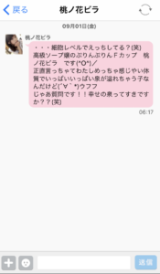ハッピーメール 桃ノ花ビラ