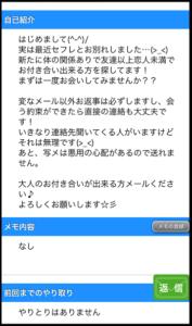 ハッピーメールWEB紹介文