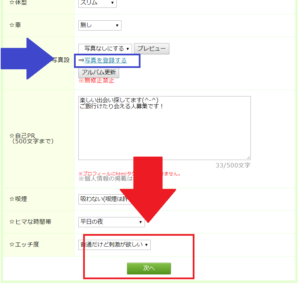 PCMAXプロフ設定方法