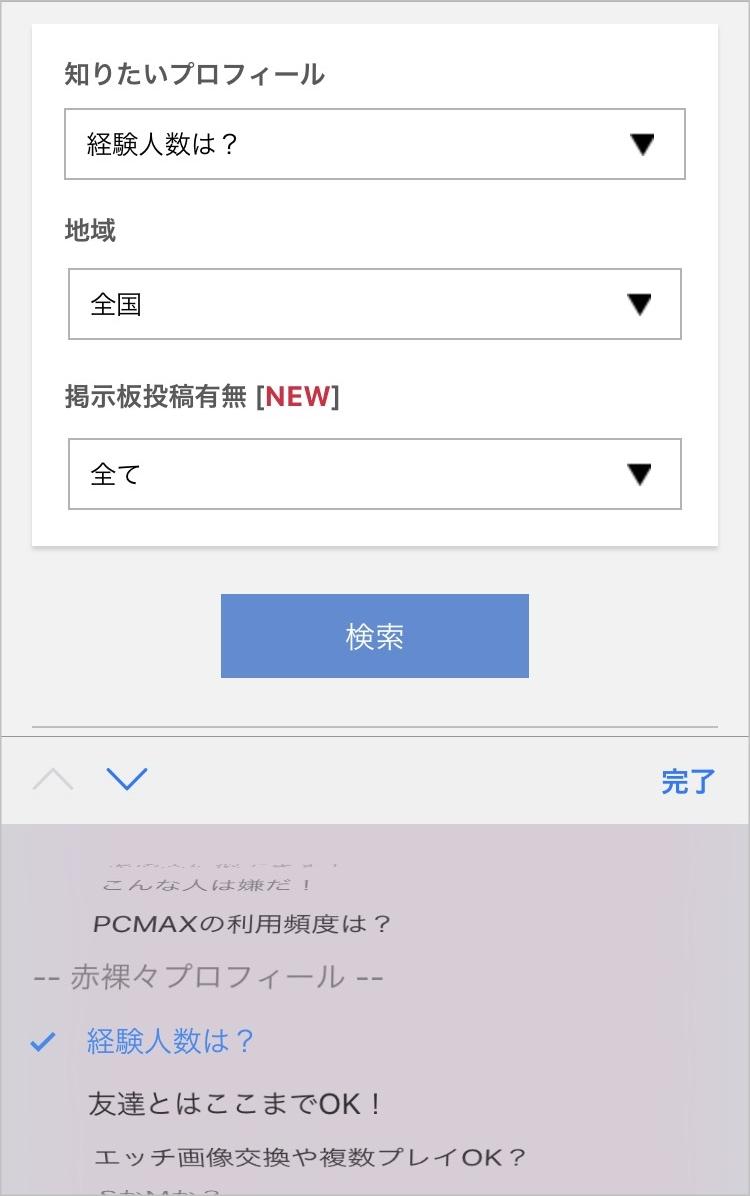 PCMAX 裏プロフィール5